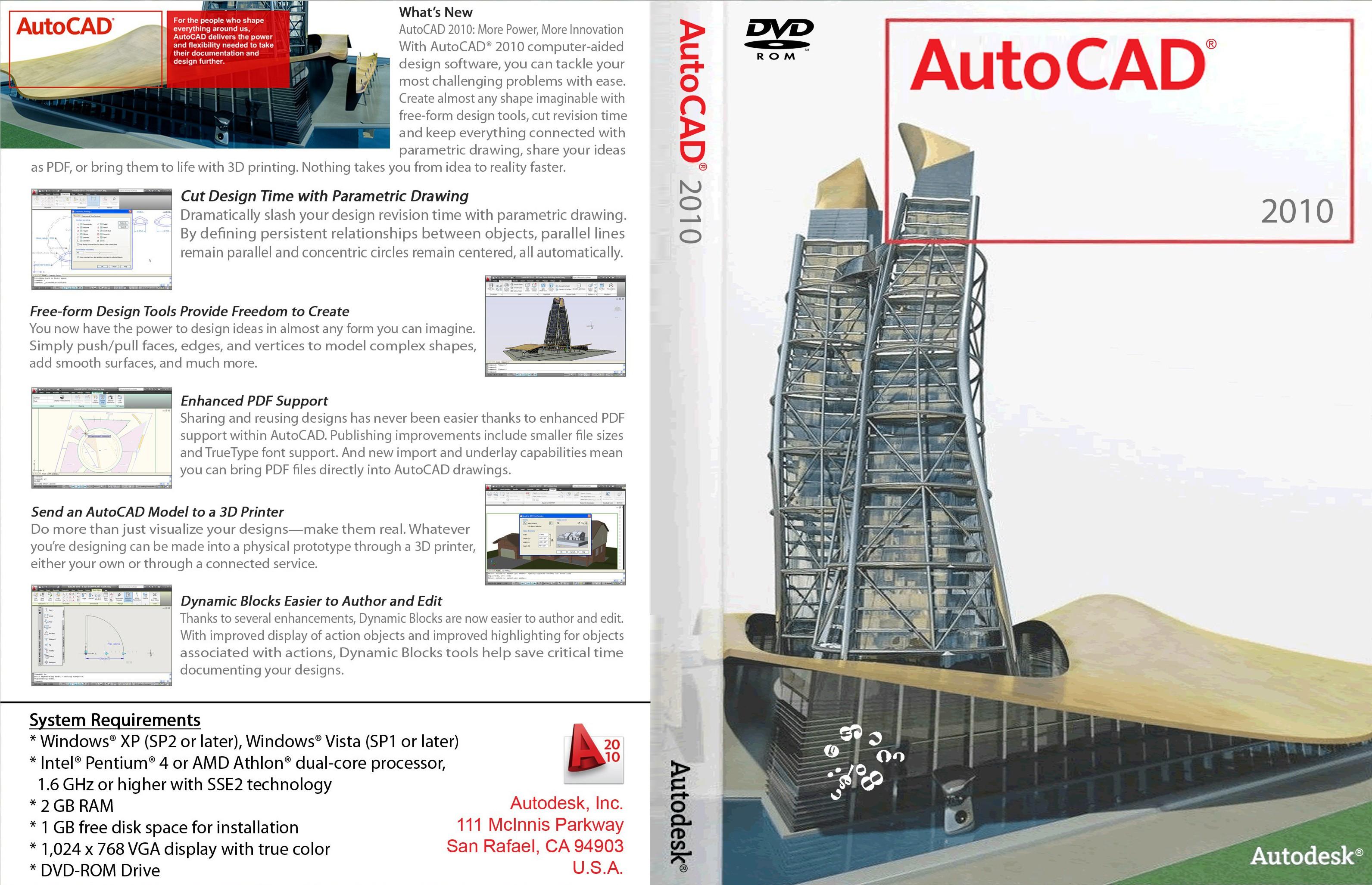 Лицензионый диск AutoCAD 2012 (Multi) .