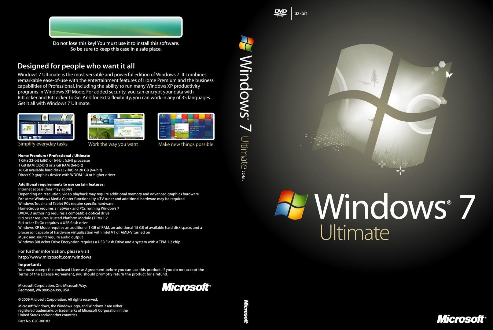 Оригинальные образы Windows 7 Максимальная x86/x64 с обновлениями по