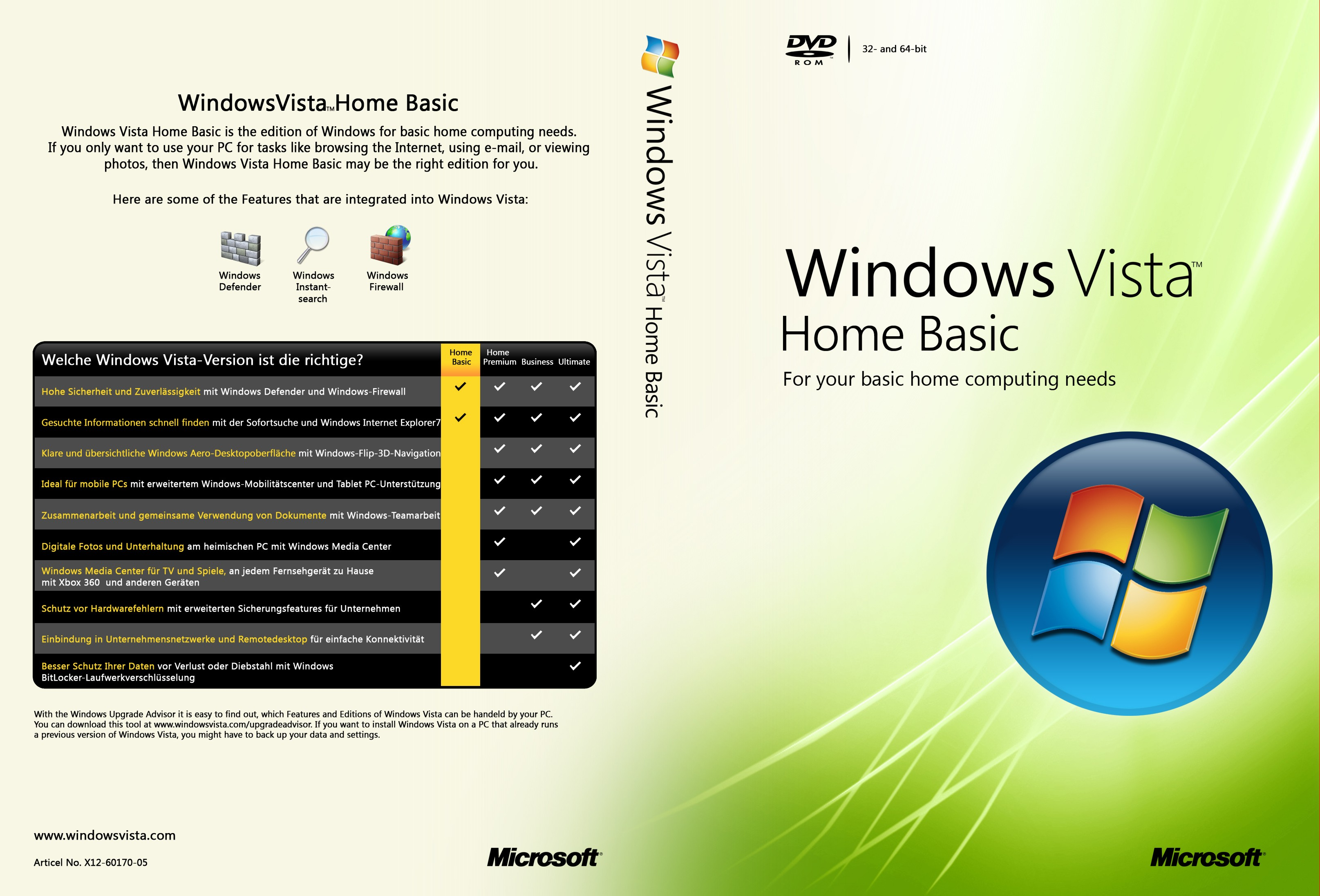 "microsoft vista and home computing essay Microsoft case study: windows vista essay  placing a ""pc running microsoft  software on every desk and in every home"" drove their overall strategy early on."